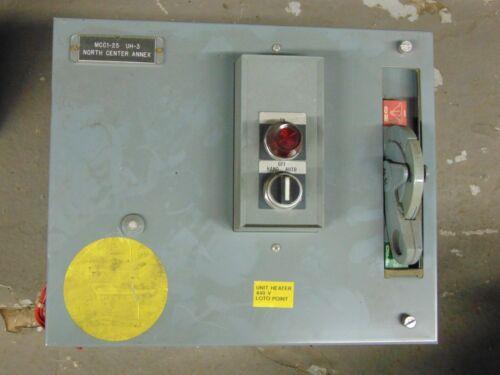 Allen Bradley 2112 Motor Control Center Bucket Size:1 10 Hp 480VAC 3Ph
