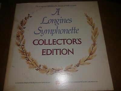 'A Longines Symphonette Collector's Edition' Record Album Vinyl Good Condition