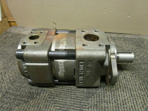 BUCHER QX43-025R309  HYDRAULIC GEAR PUMP 32MM SHAFT DIAMETER 320Pd 025Vg