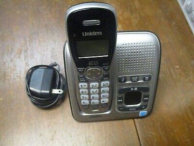 UNIDEN D1484-3 HANDSET Digital Answering System  Phone Charger Main Base