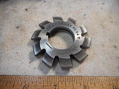B S No 4 - 7p 26 To 34t Involute Gear Cutters Hs -12 Gear Cutter