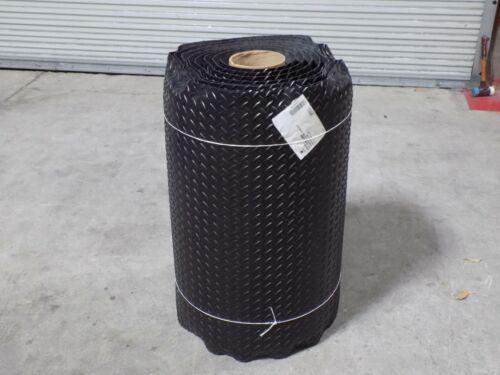 Wearwell Heavy Duty Anti Fatigue Mat 30 Ft. x 3 Ft. Diamond Plate Pattern Vinyl