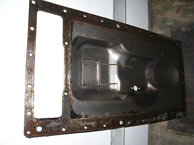 Vintage Oliver 1850 Gas Tractor - Hydraulic Oil Pan - Repaired - 1969