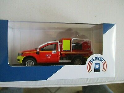 Miniature Ford Ranger 2 portes Pick-Up VLHRP Pompiers - Alarme 0036 1/43...
