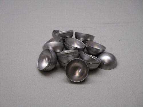 2 INCH ALUMINUM HALF BALLS - HEMISPHERE- 1100 - 6061 (50 PACK)