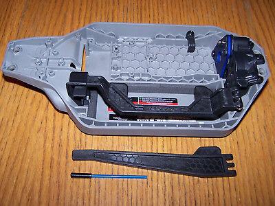 Traxxas RUSTLER 4X4 VXL LCG Chassis Battery Hold Down Motor Mount &Slipper (Hold Motor)