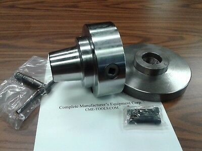5c Collet Chuck With 1-12-8 Semi-finished Adapter Platechuck Dia. 5 5c-05f0