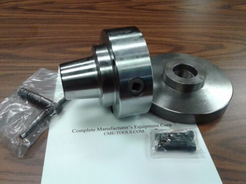 """5C Collet Chuck with 1-1/2""""-8 semi-finished adapter plate,Chuck Dia. 5"""" #5C-05F0"""