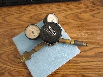 Thermalarc  Thermal Dynamics Welding Regulator W Gauges. No Model Number