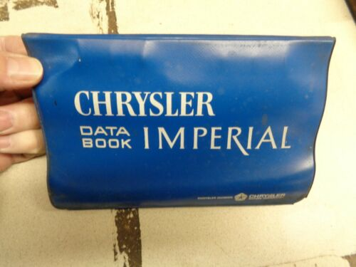 1965 Chrysler Dealer Data Book Binder 65 New Yorker Newport 300L Wagon  Imperial