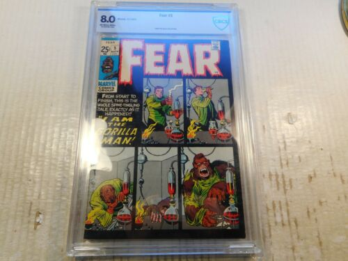 Fear #5, 1971, CBCS 8.0