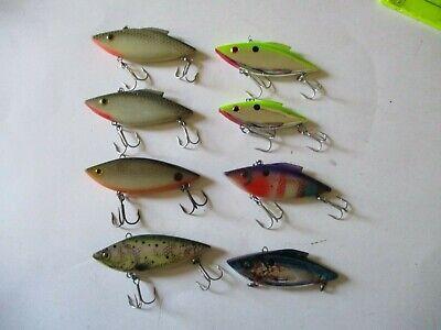 Lot of 10 New Assorted Strike King KVD 1.0 1.5 /& 2.5 Crankbait Fishing Lures #1