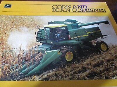 John Deere 8820-7720-6620-SideHill 6620-4420 Combines Sales Brochure 1983