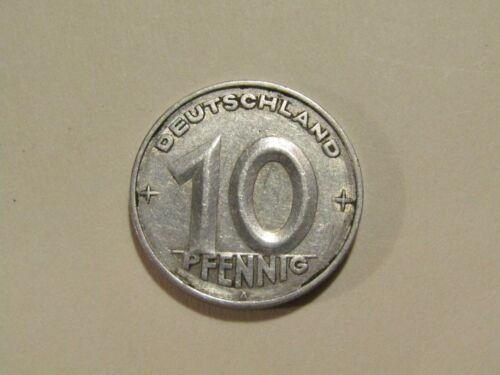 East Germany 1950-A 10 Pfennig Coin