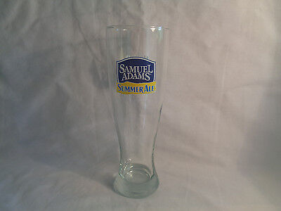 (Samuel Adams Summer Ale Now in Season Bar Pub Beer Glass 16 oz)