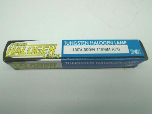 Hikari Halogen Tungsten Halogen Lamp Bulb Lot of 5 130V 300W #9025