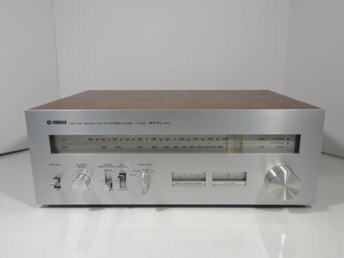 YAMAHA CT-810 Natural Sound AM/FM Stereo Tuner. Vintage Hi-Fi Quality!