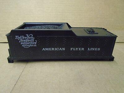 AMERICAN FLYER S GAUGE NY NH & HARTFORD TENDER SHELL FOR LOCOS 293,21095,21099