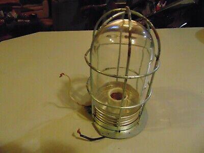 Vintage Explosion Proof Light Complete Fixture