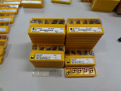 5 Pcs Kennametal Dnmg331mn Grade Kcp30 Carbide Inserts Dnmg110404mn Free Ship