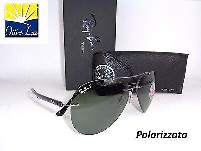 RAY BAN PILOT 8058 004/9A  G15  POLARIZZATO Sunglass Occhiali Sole Sonnenbrille
