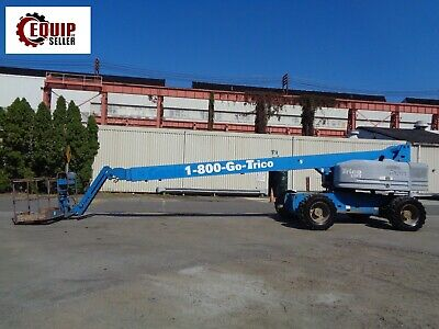 2008 Genie S85 Boom Man Aerial Lift Diesel 4x4 85ft Height