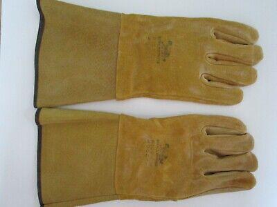 Wolverine 4095xl Pigskin Welding Gloves - Size Xl - New Old Stock