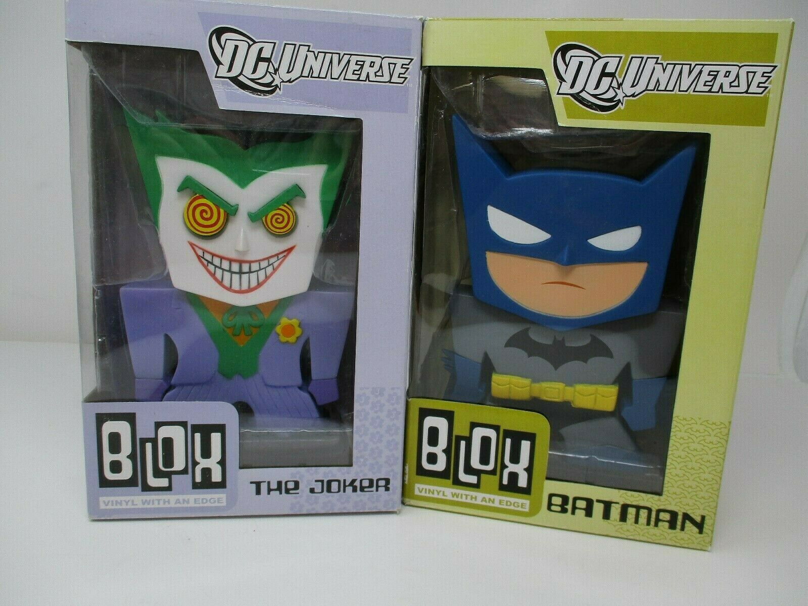 Funko Blox Batman And The Joker Vinyl Figures New In Box