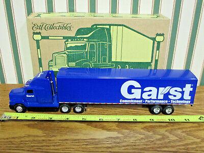 Garst Seed Freightliner Semi With Van Trailer By Ertl 1/64th Scale