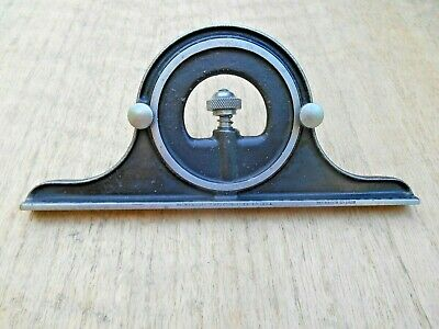 Vtg.brown Sharpe 12 Combination Square Protractor March 10 1925 Pat. Date