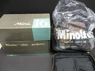Minolta Mini 16 Slide Projector new in box new old stock  for sale  Shipping to South Africa