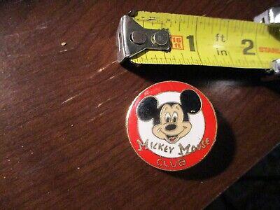Vintage Walt Disney Productions Enamel MICKEY MOUSE Club Pin
