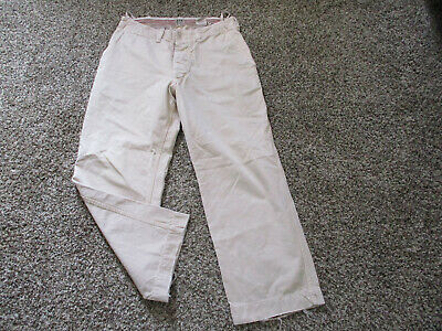 MENS BEIGE RUEHL No 925 RELAXED FIT KHAKI PANTS sz 32R sold by abercrombie 32x30