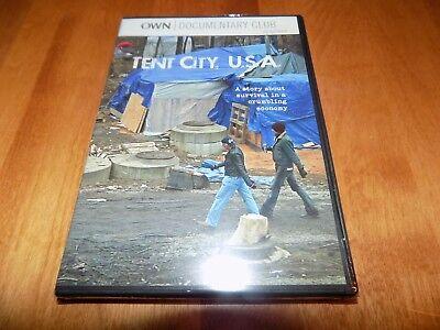 Tent City  U S A  Own Oprah Winfrey Network Documentary Club Opn Dvd Sealed New