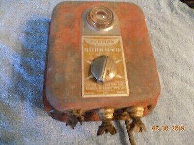 Vintage Parmak 6 Volt Charger Electric Fencer Fence Stocker Model A-df