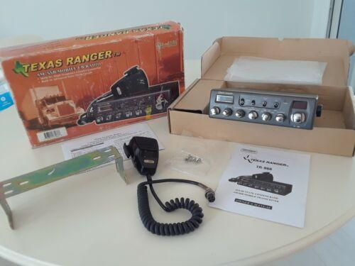 TEXAS RANGER CB RADIO  MODEL TR-966  ORIGINAL BOX/MANUAL