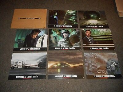 THE DAY THE EARTH STOOD STILL - ORIGINAL SET OF 8 FRENCH LOBBY CARDS