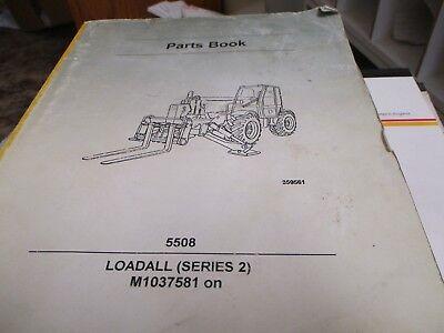 Jcb 5508 Series Ii Loadall Parts Book Manual