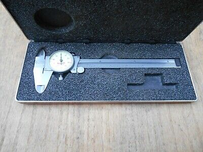Starrett 120 Dial Calipers 6 With Case Usa