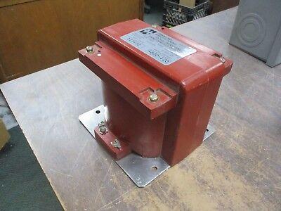 Hammond Type Vm50 Voltage Transformer 133432 Ratio 4800120 50kv Bil 60hz Used