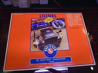 Lionel # 6-32930 ZW Multi-Watt Transformer Includes 2 -180 Watt Transformers