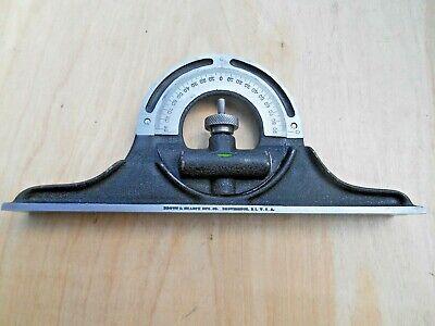 Brown Sharpe 12 Combination Square Protractor