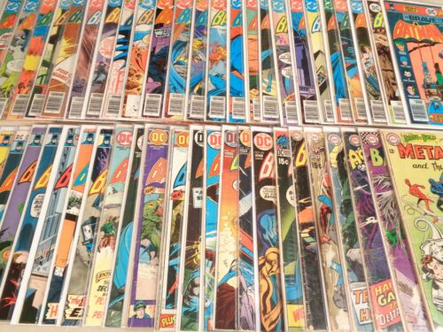 Lot of 47 Brave and the Bold #55-165 DC 1964-80 Neal Adams Batman Joker Deadman