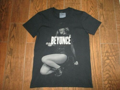 Womens Beyonce 2014 On The Run OTR Tour Black T Shirt Sz. SM