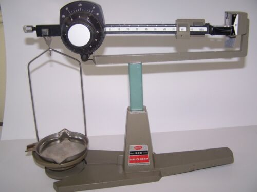 OHAUS DIAL 0 GRAM BALANCE SCALE