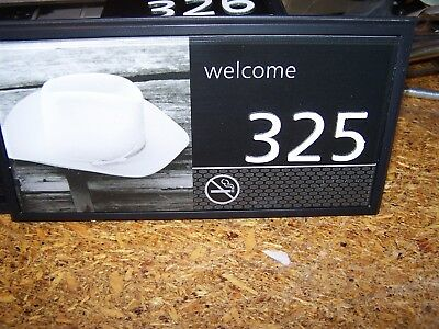 Hampton Inn Pictured Hotel   Motel Room Numbers  325 Cowboy Hat Nice