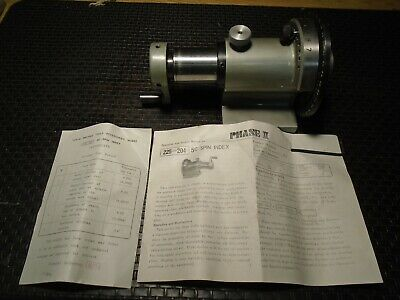 Phase Ii 225-204 5c Spin Index New Old Stock
