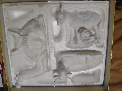 "Lenox ""The Nativity"" Bisque China ""Animals of the Nativity"" Set in original box"