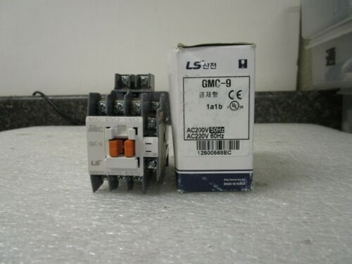 New! LS Meta MEC GMC-9 GMC(D)-9 Contactor 1a1b 220V 50/60Hz