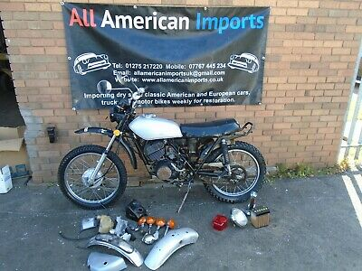 SUZUKI TC185 MOTORBIKE(1976) FRESH US IMPORT! GREAT PROJECT BASE! RARE! NO RES!